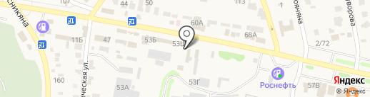 Магазин автотоваров на карте Чалтыря