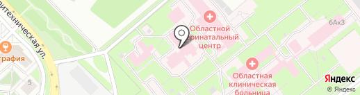 Липецкий областной перинатальный центр на карте Липецка