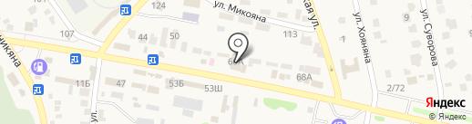 Парус на карте Чалтыря
