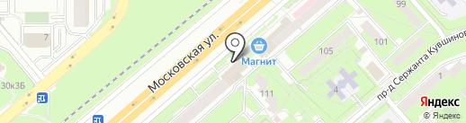 Почтовое отделение №55 на карте Липецка