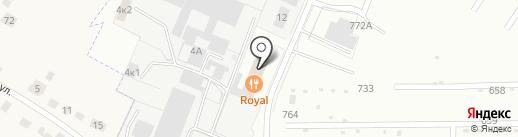 Royal на карте Липецка