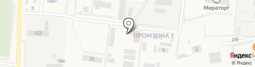 Донуглекомплект-Холдинг на карте Чалтыря