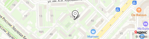 ДруЖБАН на карте Липецка