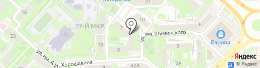 Управляющая компания Регион 48 на карте Липецка