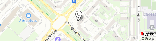 Наш Дом на карте Липецка
