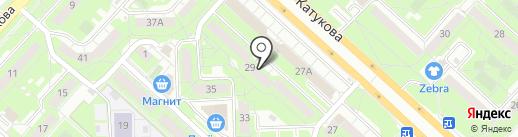 Вежбицка на карте Липецка