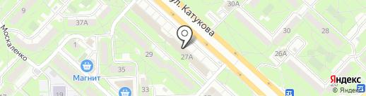СБТС на карте Липецка