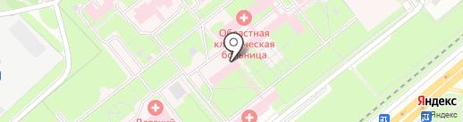 Поликлиника на карте Липецка