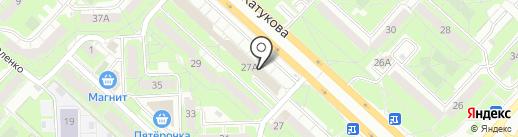 Магазин посуды на карте Липецка