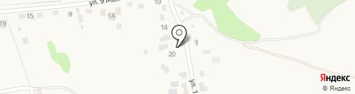 Полина на карте Лениного