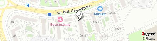 Липецкстрой на карте Липецка