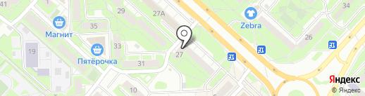 Вайцен паб на карте Липецка