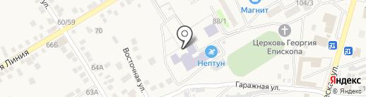 Средняя общеобразовательная школа №3 на карте Чалтыря