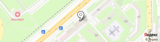 Банкомат на карте Липецка