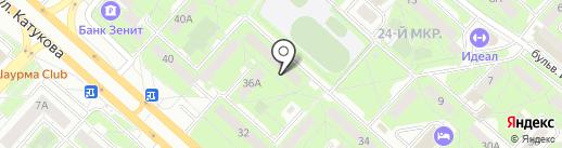 Гильдия на карте Липецка
