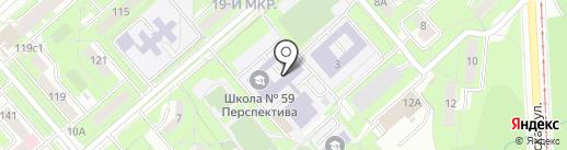 Перспектива на карте Липецка