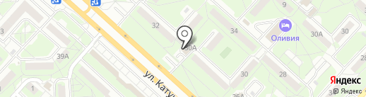 Pit-stop на карте Липецка