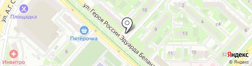 АВТОПИЦЦА на карте Липецка