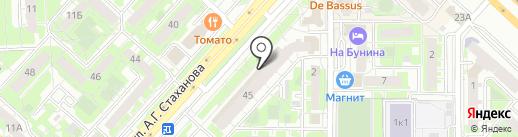 Магазин карнизов для штор на карте Липецка