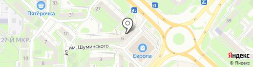 OLGA на карте Липецка