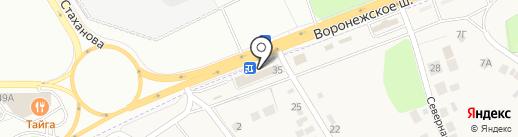 РЭС на карте Сырского