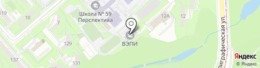 МИКТ на карте Липецка