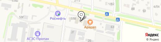 Олимп на карте Чалтыря