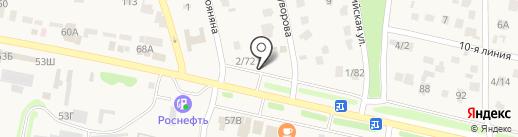 Анив на карте Чалтыря