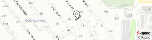 Кооператор на карте Липецка