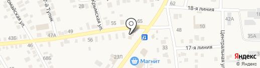Трезор-СБ на карте Чалтыря