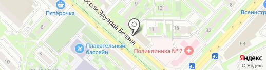 Леди на карте Липецка