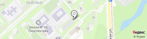 Ветеран на карте Липецка