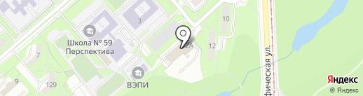 Дрепин П.В. на карте Липецка
