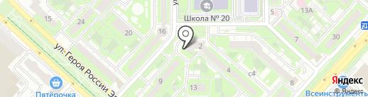Детский РИМ на карте Липецка