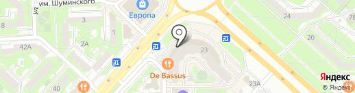 Дверник на карте Липецка