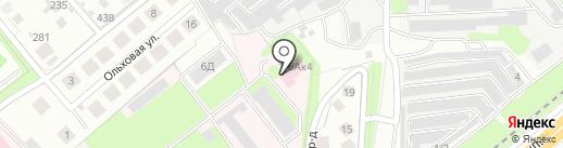 Липецкая областная клиническая больница на карте Липецка