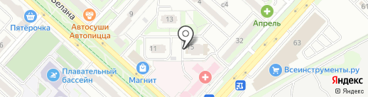 Минимаркет на карте Липецка