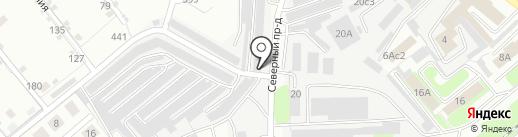 Мастерская по реставрации салона автомобиля на карте Липецка