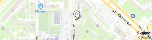 Кокос Showroom на карте Липецка