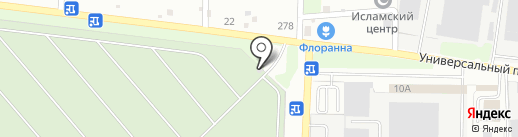 Городское кладбище на карте Липецка
