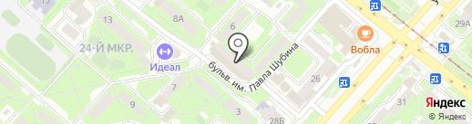 Моторс-Л на карте Липецка