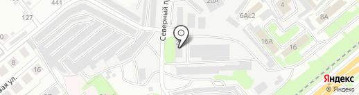 Горэлектросеть, МУП на карте Липецка