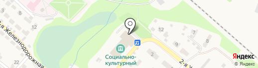 Социально-культурный центр на карте Рыбного