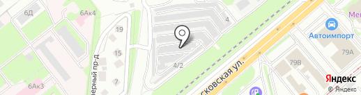 АЛЛЮКС на карте Липецка