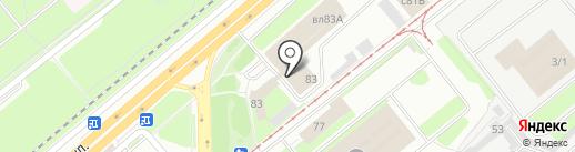 Государственная инспекция по надзору за техническим состоянием самоходных машин и других видов техники Липецкой области на карте Липецка