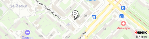Modno на карте Липецка