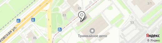 Департамент транспорта, дорог и благоустройства на карте Липецка