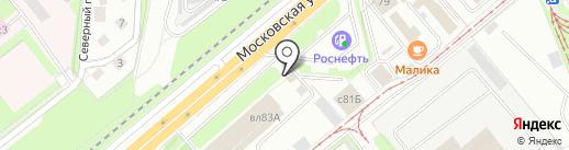 Express на карте Липецка