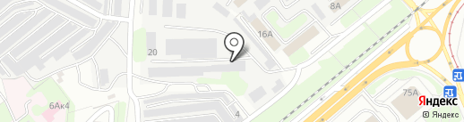 Муниципальное казенное ремонтно-строительное дорожное предприятие на карте Липецка