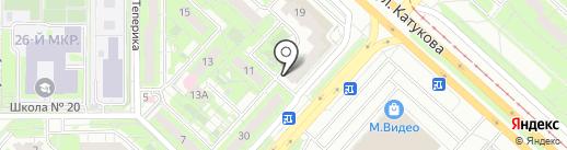 Lantana на карте Липецка